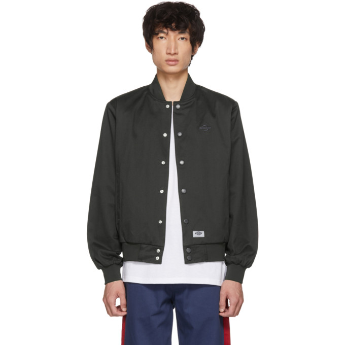 DICKIES CONSTRUCT Academy Bomber Jacket in Black