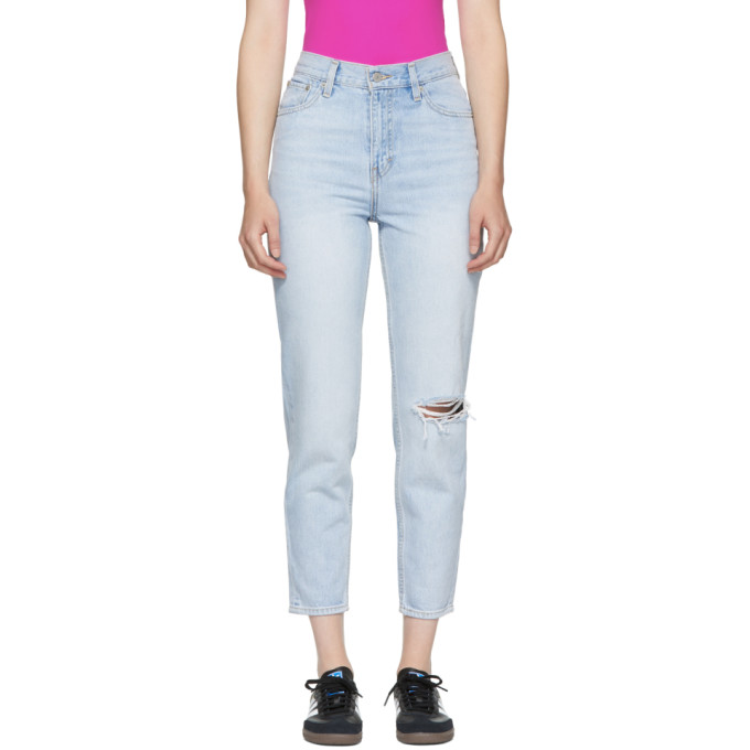 LEVIS BLUE MOM JEANS