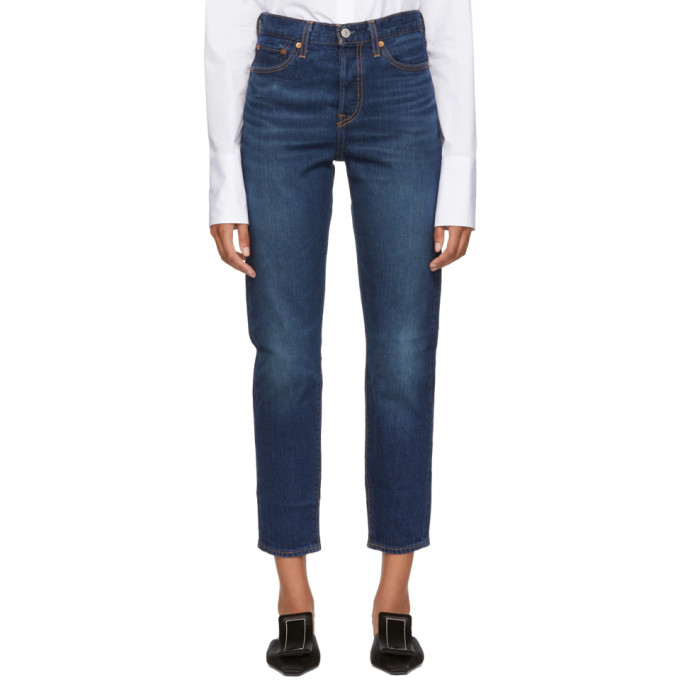 LEVIS INDIGO WEDGIE ICON FIT JEANS