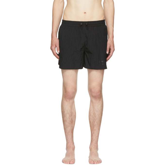 EVEREST ISLES BLACK RUNNER 01 SWIM SHORTS