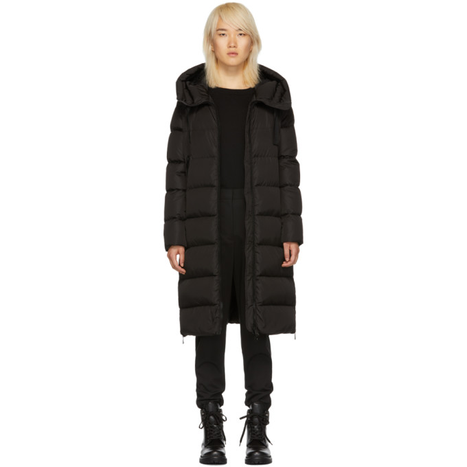 MONCLER BLACK DOWN GARROT COAT
