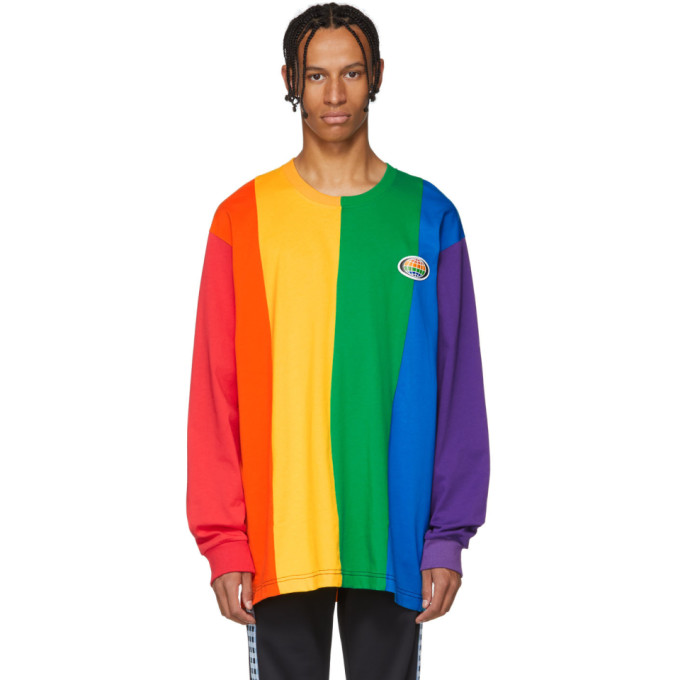 XANDER ZHOU Xander Zhou Multicolor Rainbow Sweatshirt