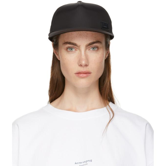 ACNE STUDIOS BLACK COVIA FACE E CAP