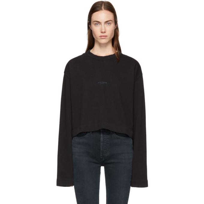 Black Odice Sweatshirt from SSENSE