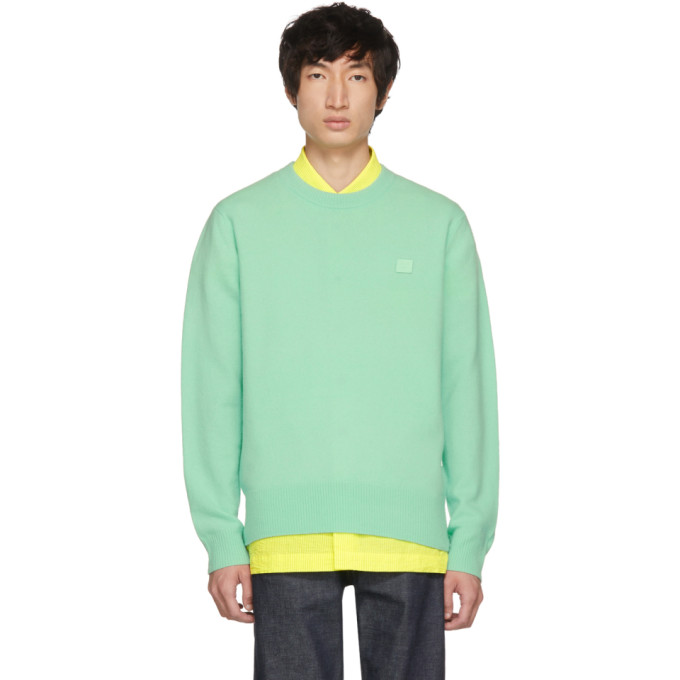 Crewneck Sweater Mint Green