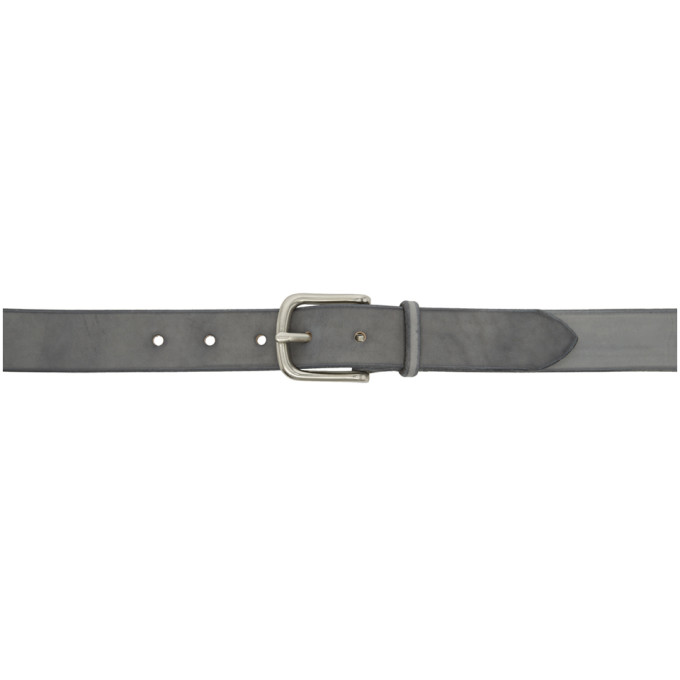 MAXIMUM HENRY GREY AND SILVER WIDE STANDARD BELT