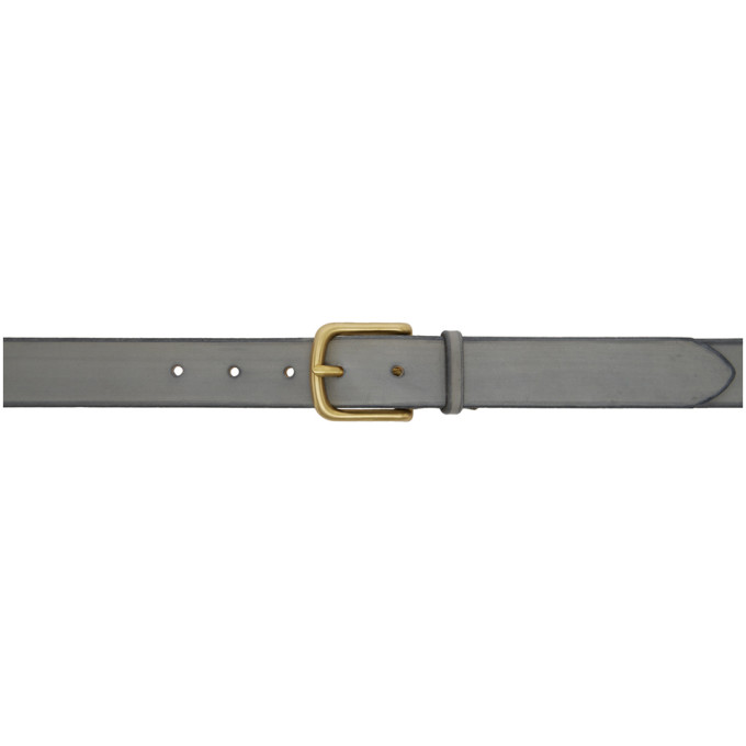 MAXIMUM HENRY GREY AND GOLD WIDE STANDARD BELT
