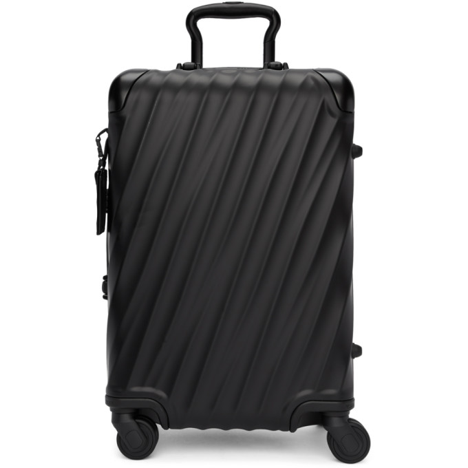 TUMI BLACK INTERNATIONAL CARRY-ON SUITCASE