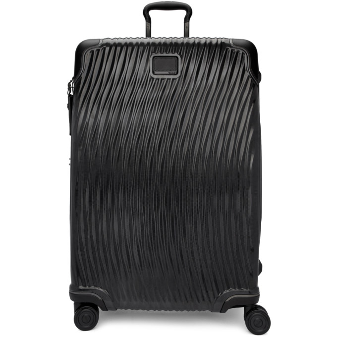 TUMI BLACK EXTENDED TRIP SUITCASE