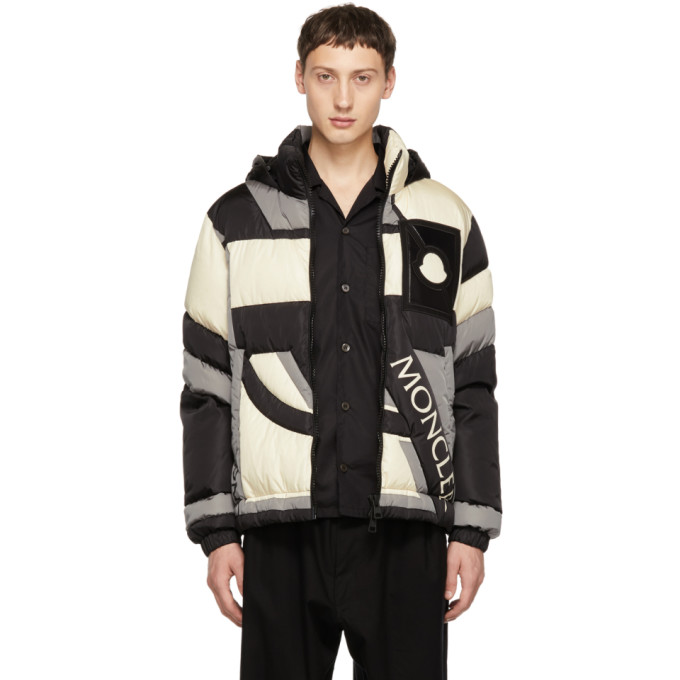 955ed1bdccf6 Moncler Genius 5 Moncler Craig Green Colour-Block Quilted Shell Hooded Down  Jacket In 970