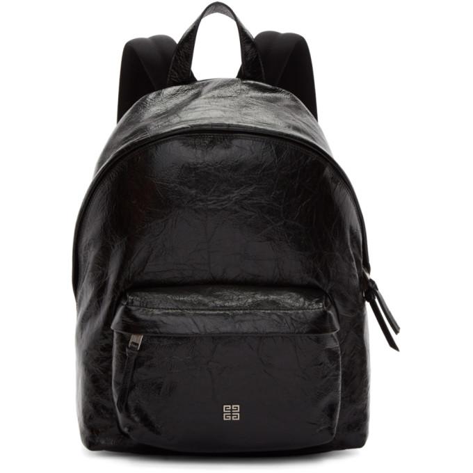 GIVENCHY Black Vintage 4G Backpack
