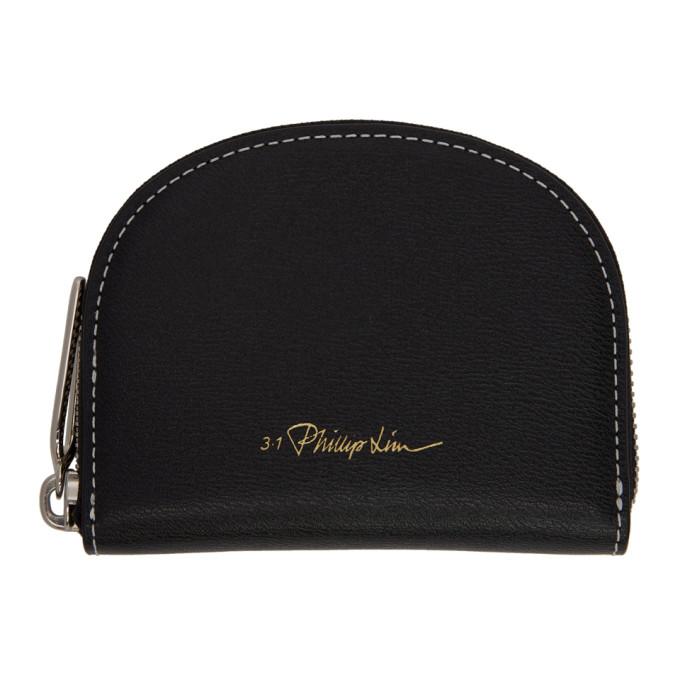 6991f58d3043 3.1 Phillip Lim Black Hudson Wallet In Ba001 Black