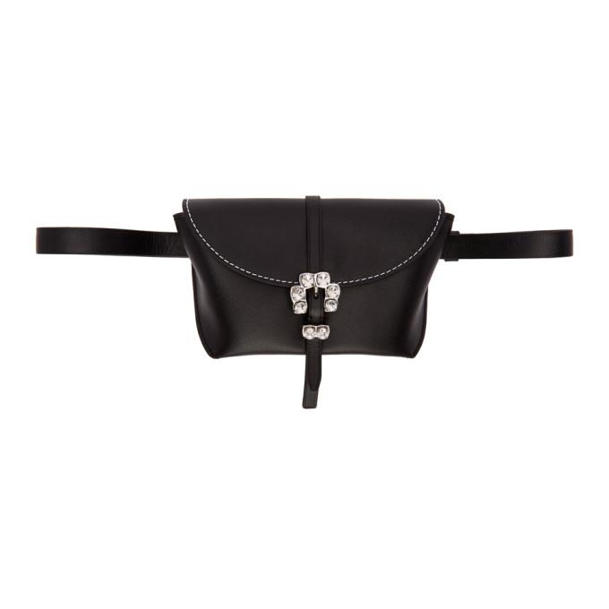 Hudson Leather Belt Bag - Black