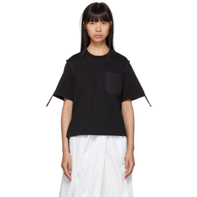 Black Patch Pocket T Shirt by 3.1 Phillip Lim