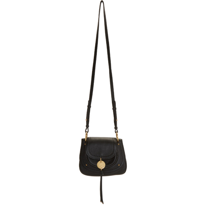 See By Chloe Black Small Charm Bag in 001 Black