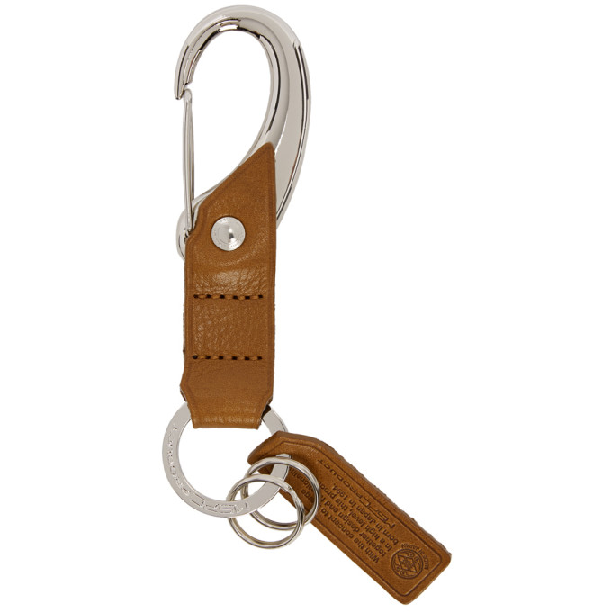 MASTER-PIECE CO Master-Piece Co Tan Equipment Series Keychain in Camel