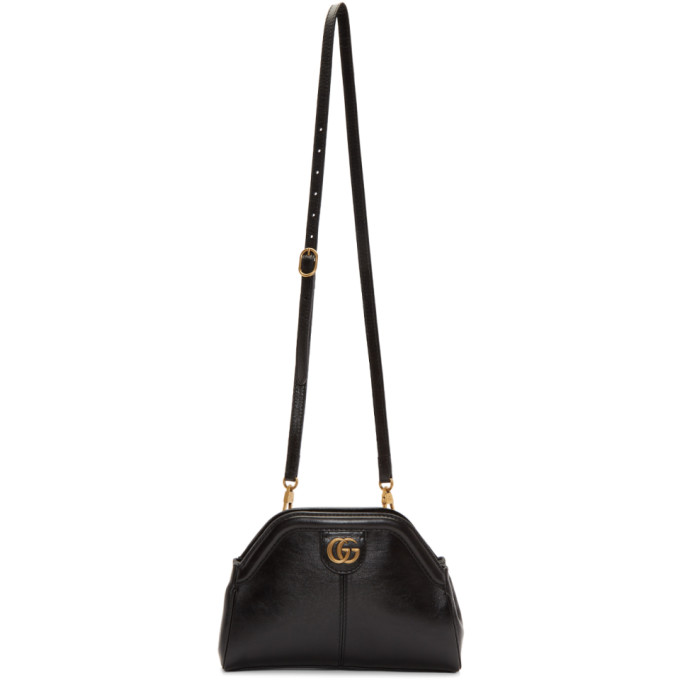 Black Linea Shoulder Bag by Gucci