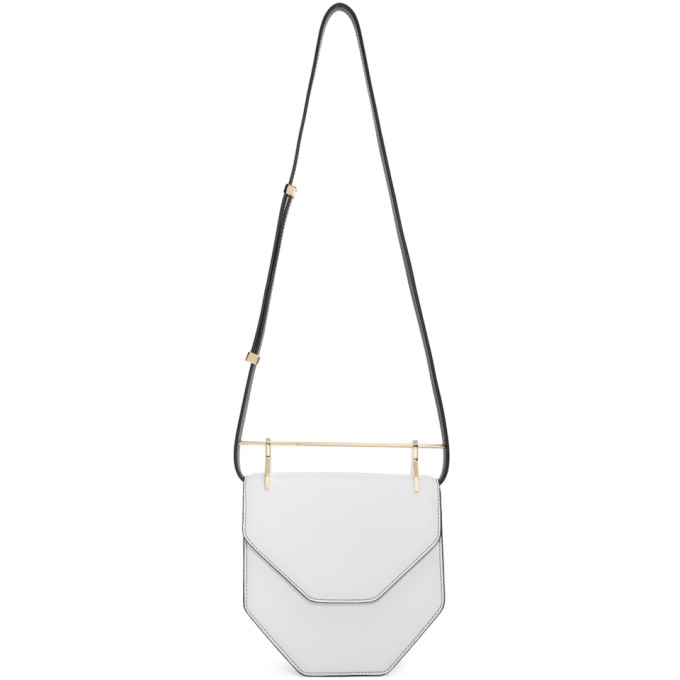 M2MALLETIER WHITE AMOR FATI BAG