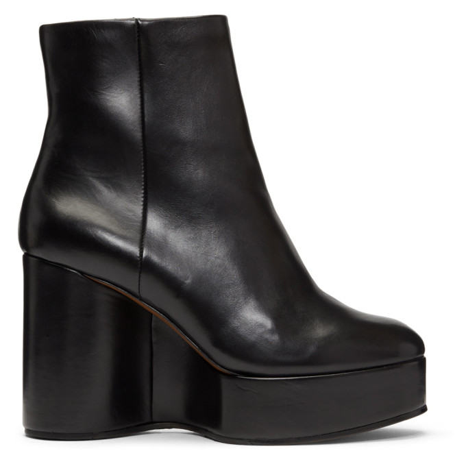 BELEN WEDGE ANKLE BOOTS