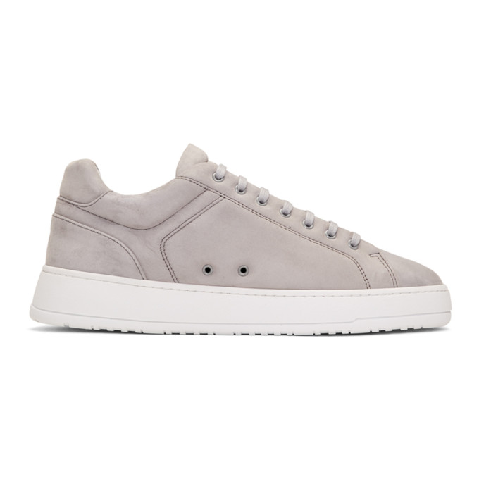 ETQ. Etq Amsterdam Grey Lt 04 Sneakers in Alloy