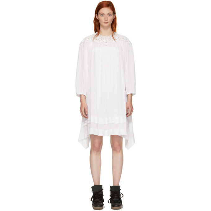 Isabel Marant Etoile White Rita Dress, 20Wh White
