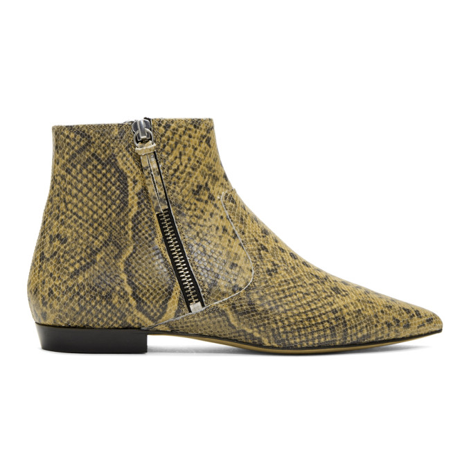 Dawie Booties in 23Nl Natura