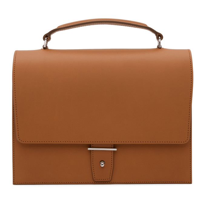PB 0110 Pb 0110 Brown Top Handle Bag