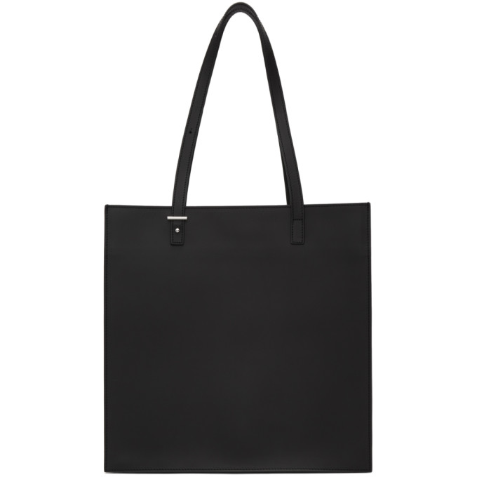 PB 0110 Pb 0110 Black Leather Tote