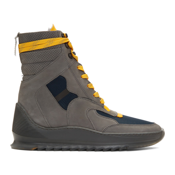 FILLING PIECES Men'S Hoth Boot Running Sneakers in 1874 Dk Gry