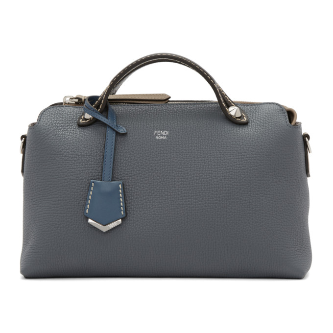 FENDI GREY MEDIUM BY THE WAY BAG