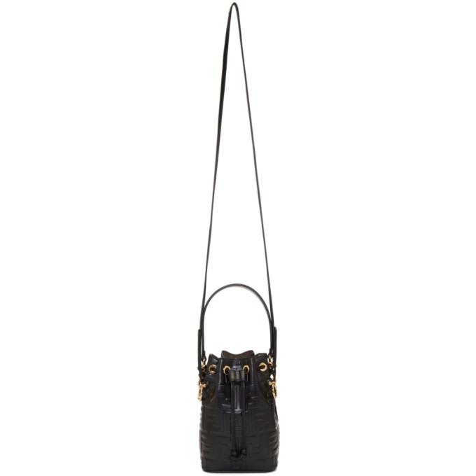 Black Mini Mon Tresor Bag by Fendi