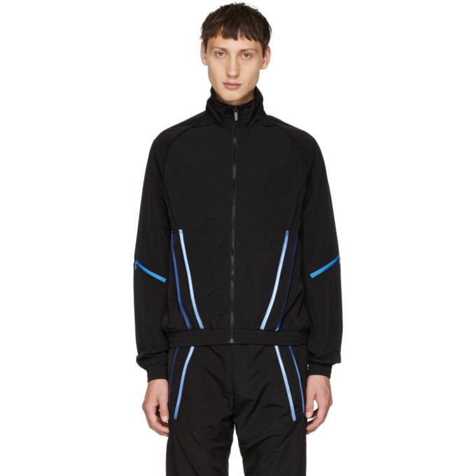 COTTWEILER Cottweiler - Signature 3.0 Contrast Trim Shell Track Jacket - Mens - Black