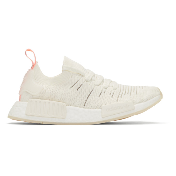 White Nmd R1 Stlt Sneakers by Adidas Originals