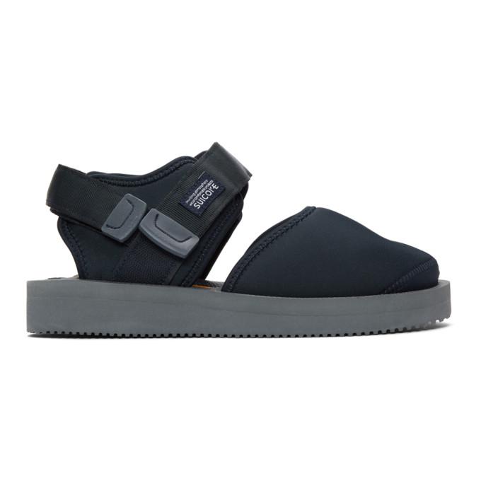 Navy Bita V Sandals by Suicoke