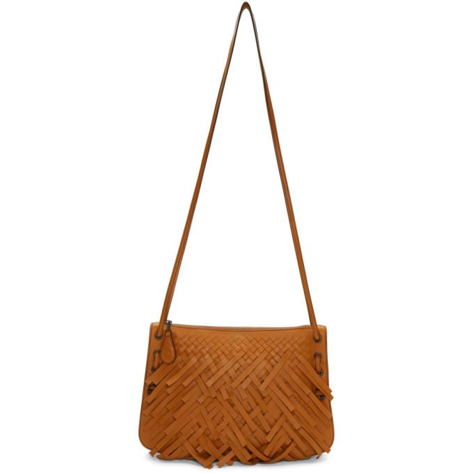 Orange Palio Fringes Double Strap Bag from SSENSE