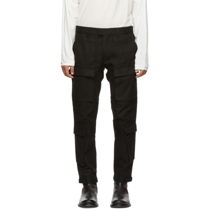 ABASI ROSBOROUGH BLACK LIMITED EDITION TACTICAL TROUSERS