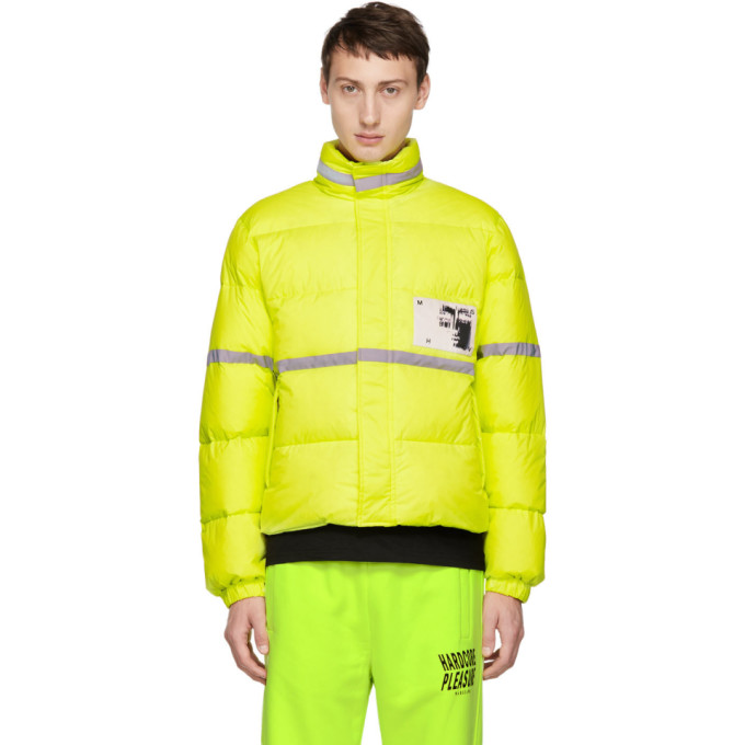 Reflective Jacket in Yellow