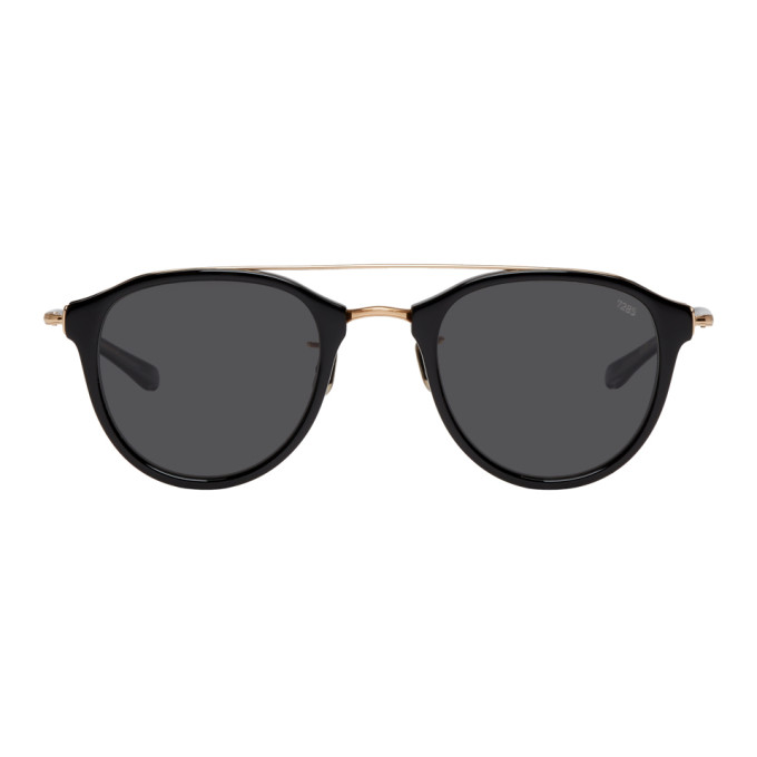 EYEVAN 7285 BLACK AND GOLD MODEL 767 SUNGLASSES