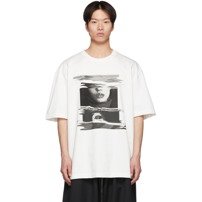 Off White Similar Fade T Shirt by Maison Margiela