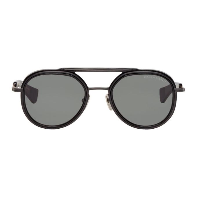 DITA Dita Black Spacecraft Sunglasses in Black/Roseg