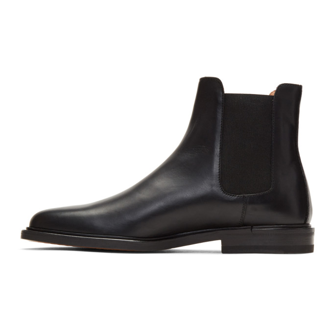 Cross-grain Leather Chelsea Boots - BlackCommon Projects