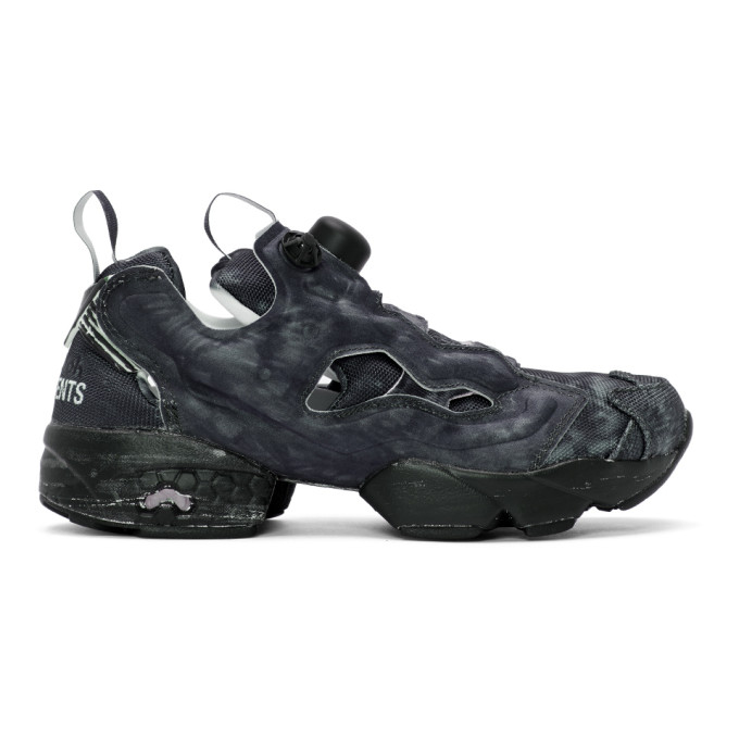 + Reebok Instapump Fury Og Logo-print Neoprene And Mesh Sneakers - Black VETEMENTS