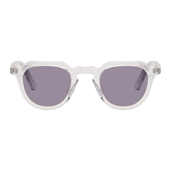 ALL IN TRANSPARENT AND GREY VOLTAIRE SUNGLASSES