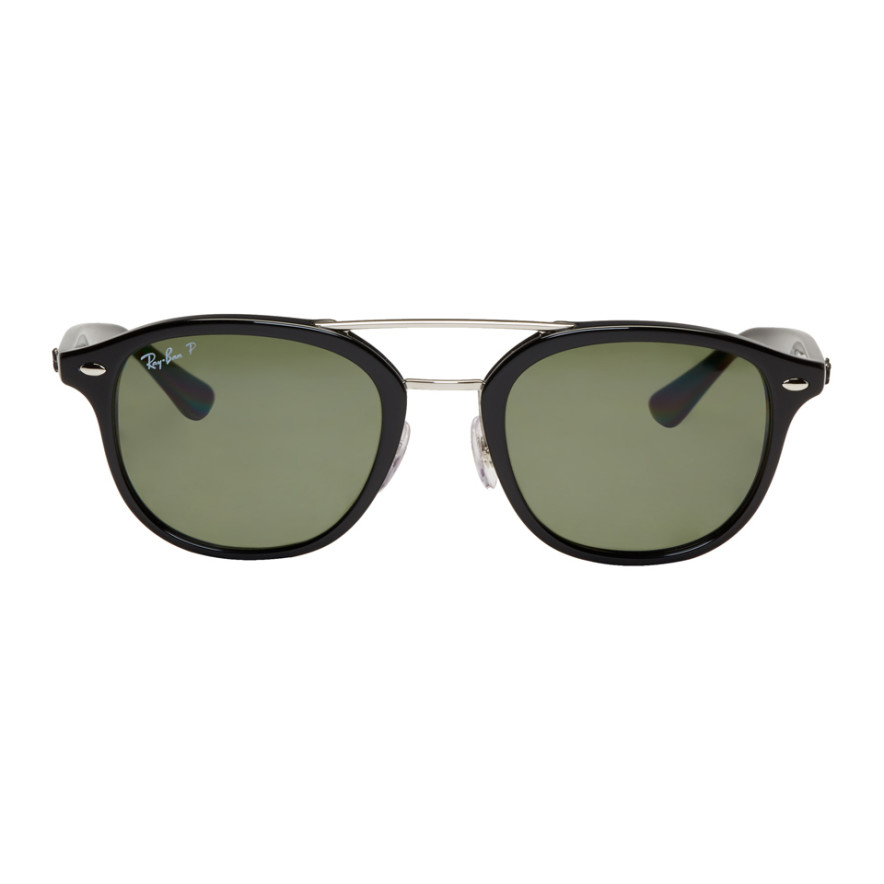 Black Rb2183 Sunglasses by Ray Ban