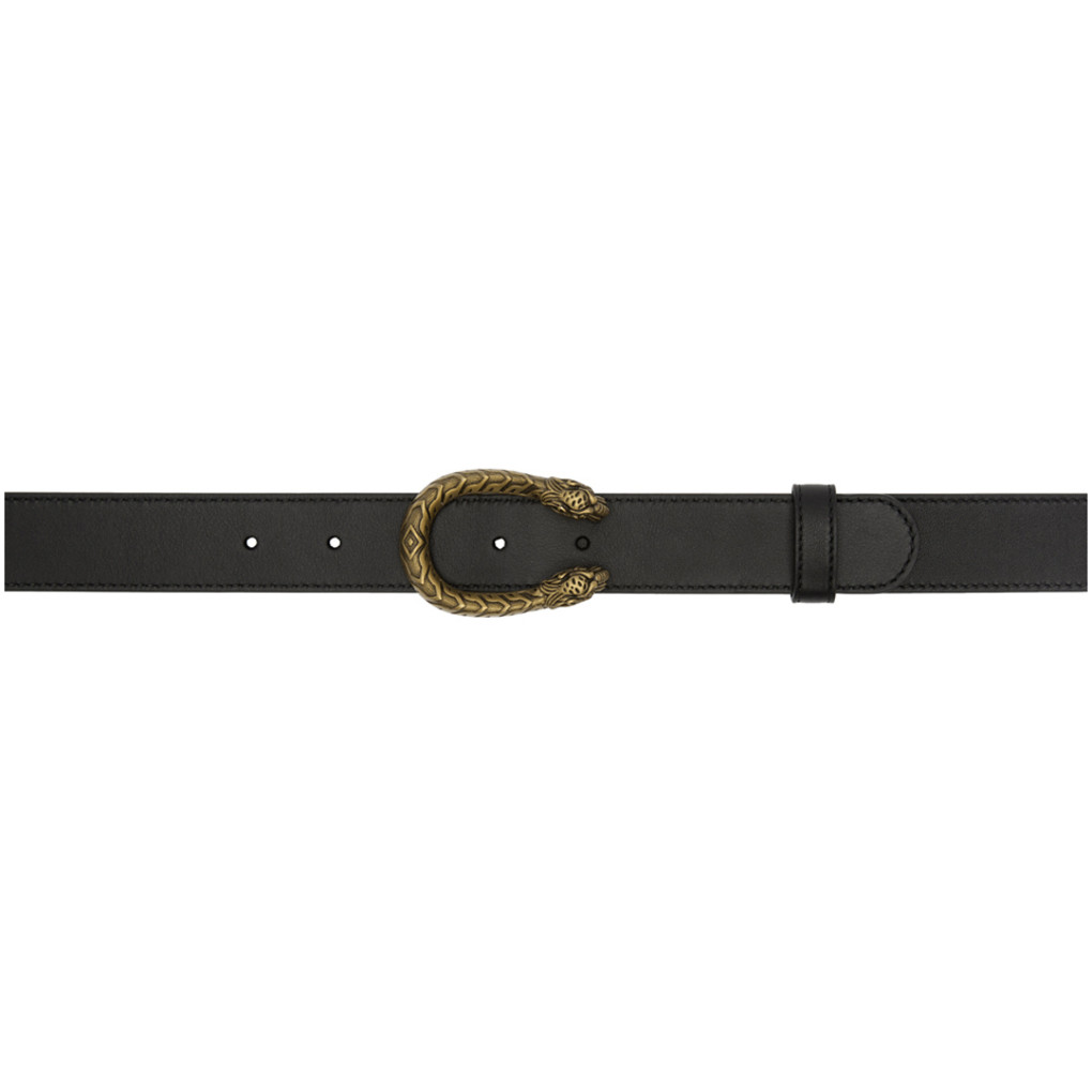 Black Dionysus Belt by Gucci