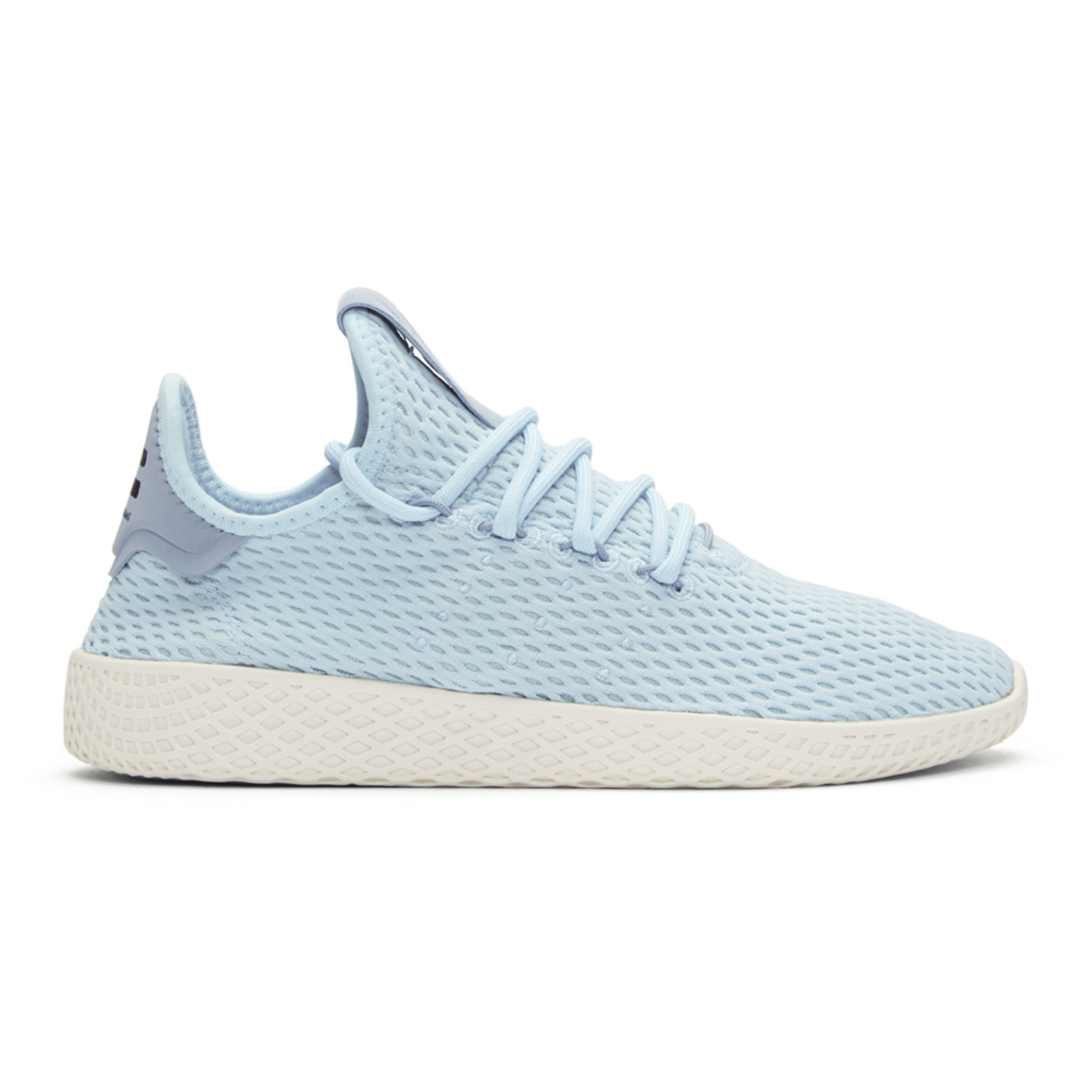 Blue Tennis Hu Sneakers by Adidas Originals X Pharrell Williams