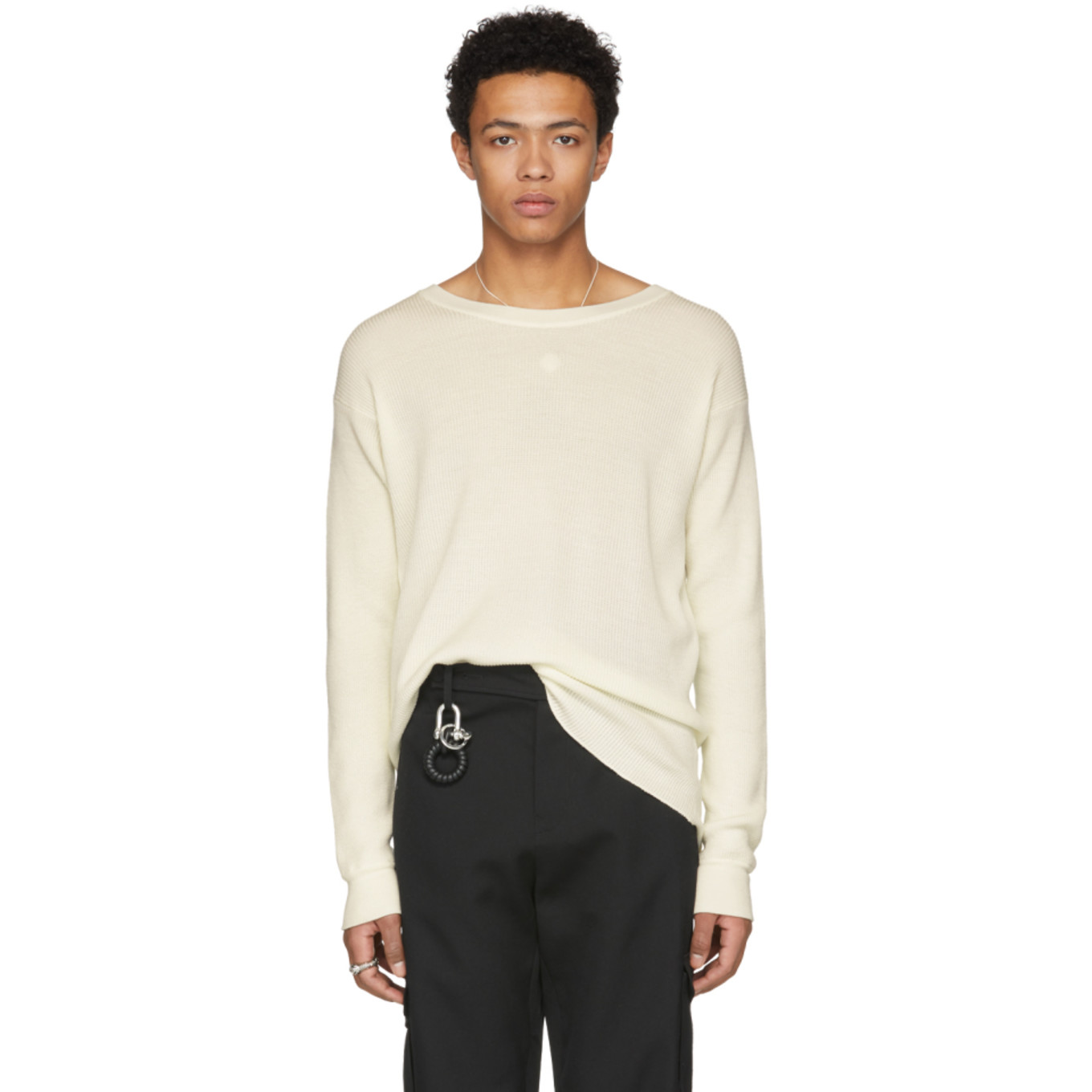 Off-White Thermal Sweater