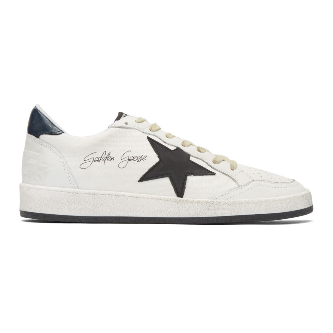 White Signature Ball Star Sneakers Golden Goose