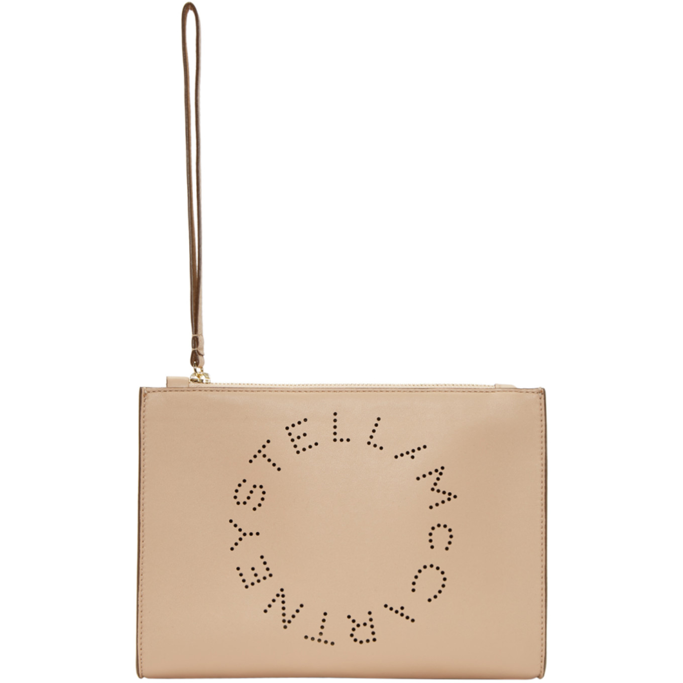 Pink Logo Clutch by Stella Mccartney