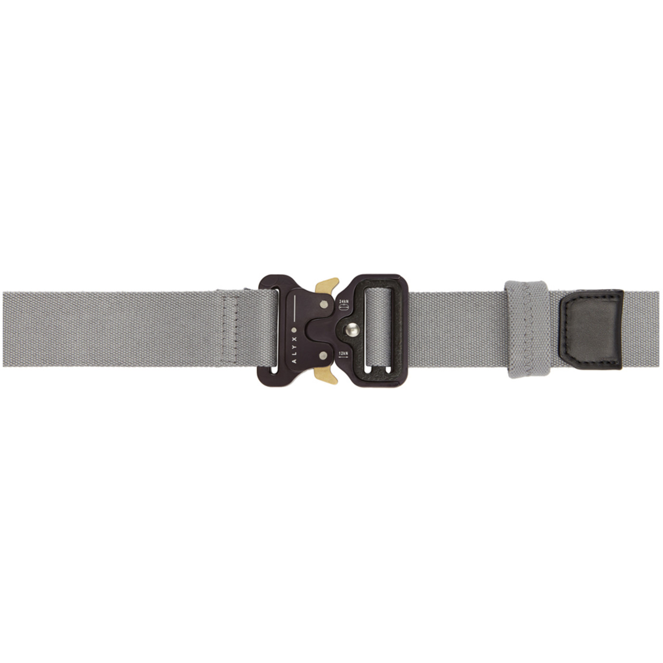 Grey Large Rollercoaster Belt by Alyx